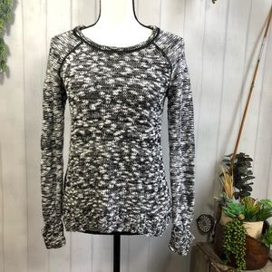 Guess Marled Texture Tunic Sweater Small